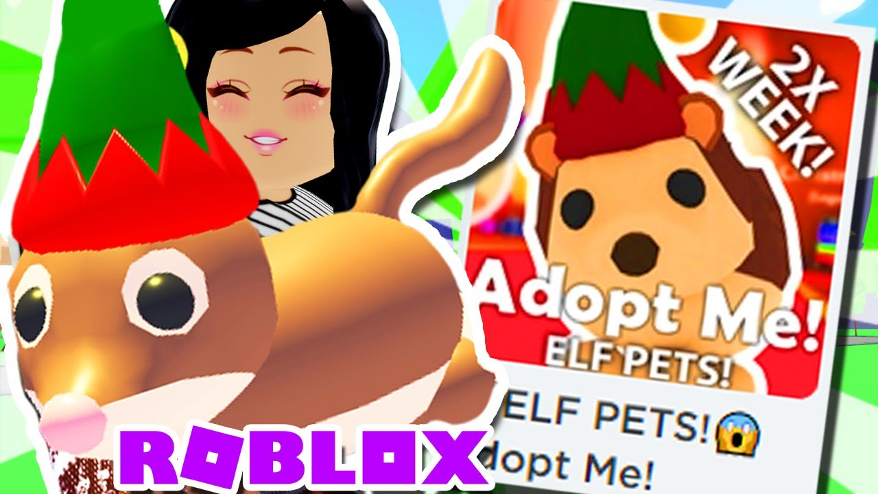 *NEW* ELF PETS Update ADOPT ME Roblox PET Holiday Event x2