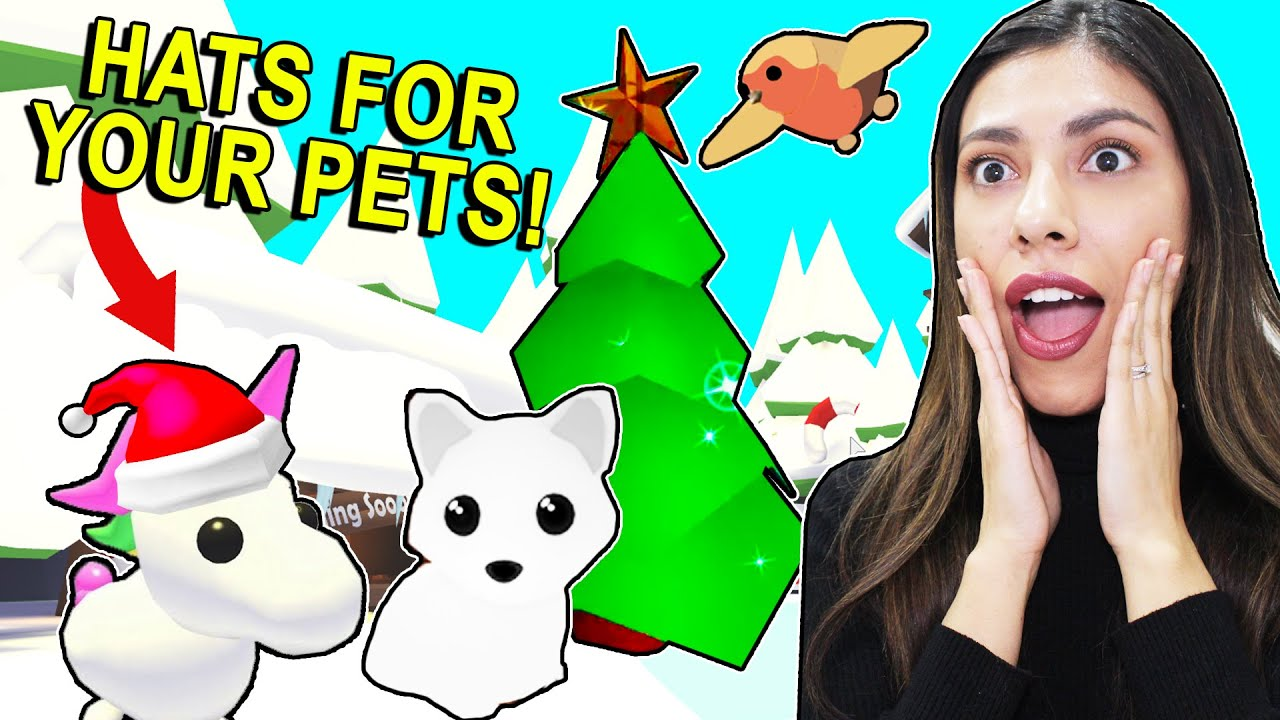 New Bee Update Roblox Adopt Me All The New Christmas Pets And Hats For Pets Roblox Adopt Me Update And Leaks Pet Dedicated Pet Dedicated